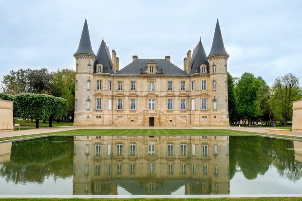 Château Pichon Longueville Baron in Bordeaux, France