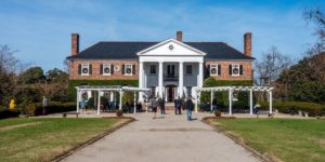 The mansion at Boone Hall Plantation Charleston SC