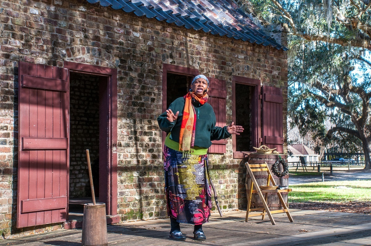 Boone Plantation is unique among South Carolina plantations for its live performances about Gullah Geechee culture