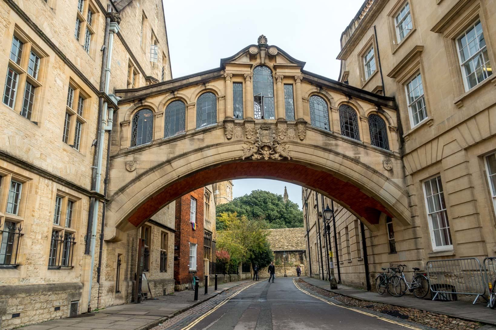 The Bridge of Sighs is one of the unique places to see in Oxford, England