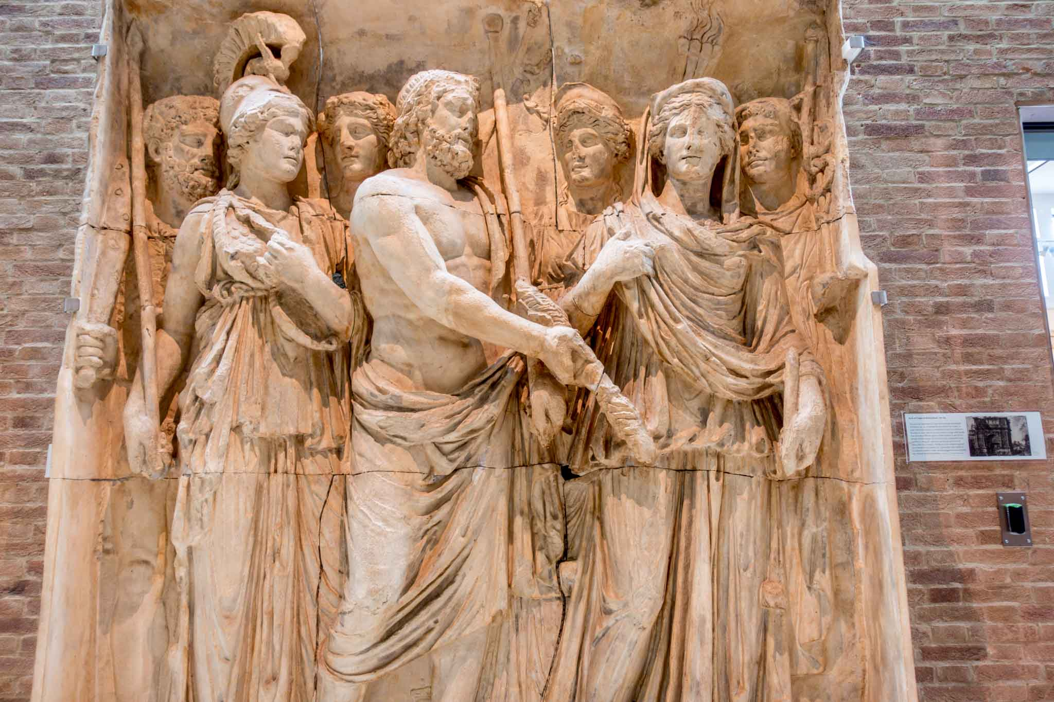 Greek and Roman statues in Ashmolean Museum