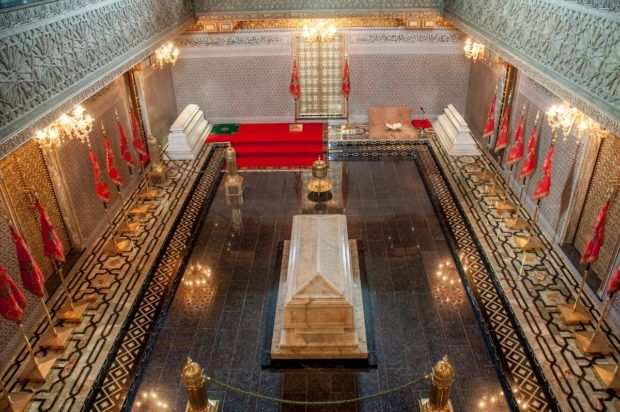 Seeing inside the Mausoleum of Mohammed V is one of the top Morocco activities in Rabat