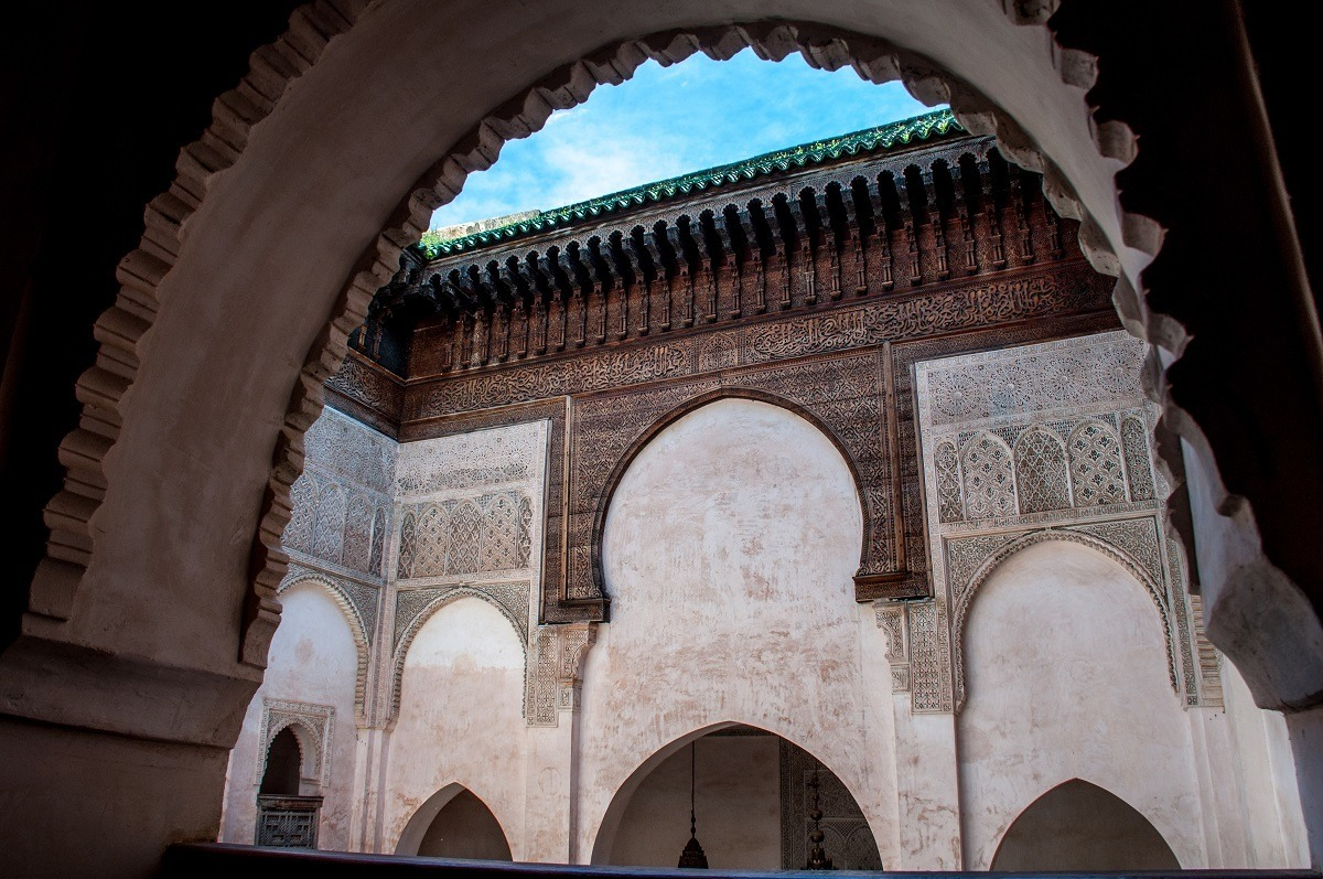 Madrasa al-Attarine is one of the highlights of Morocco sightseeing in the Fez medina
