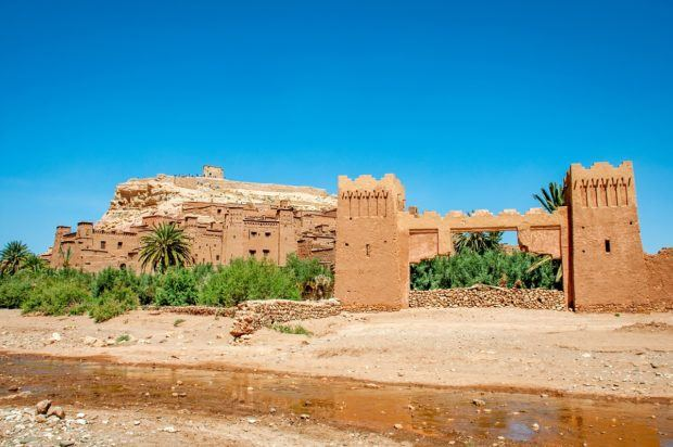 Ait Benhaddou in Ouarzazate is one of the historic places to go in Morocco