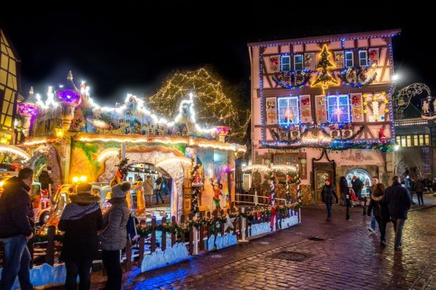 A trip to Colmar is one of the highlights of Alsace in winter