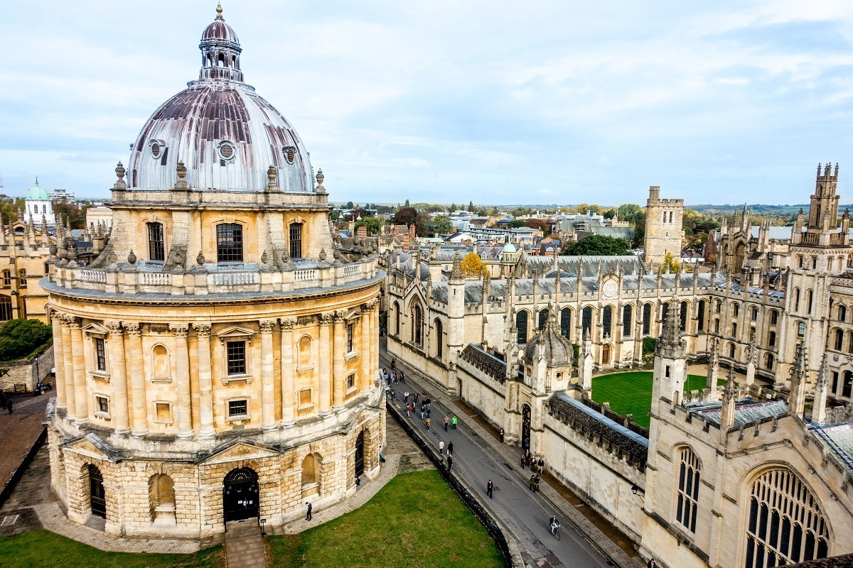 Radcliffe Camera in Oxford, England