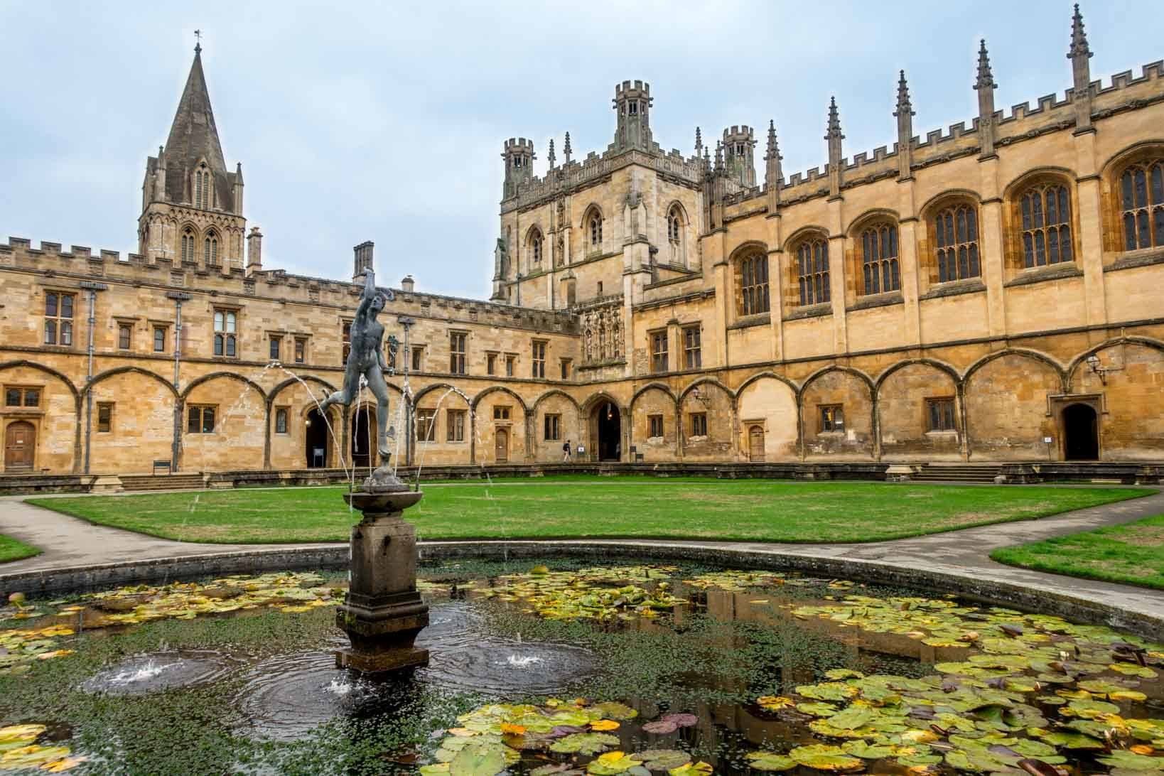 Seeing Christ Church is one of the highlights of visiting Oxford England