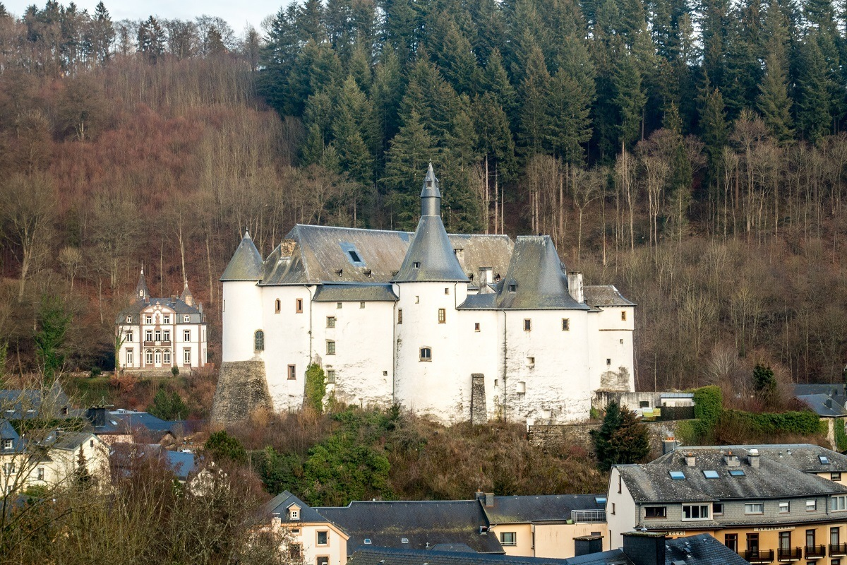 Don't miss seeing the 12th-century Clervaux Castle when you visit Luxembourg