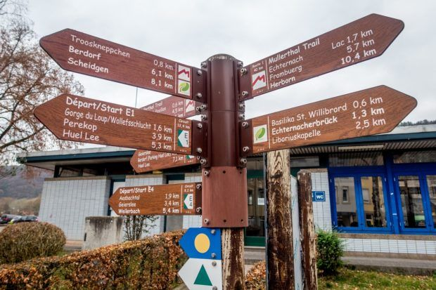 Hiking in Mullerthal is one of the top things to do in Luxembourg