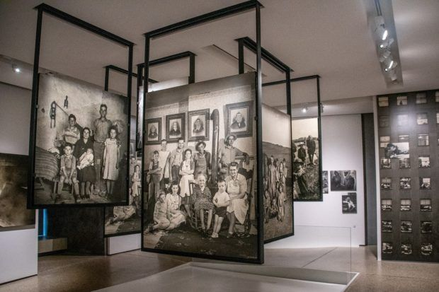 The photography exhibit called the Family of Man is a highlight of Luxembourg sightseeing