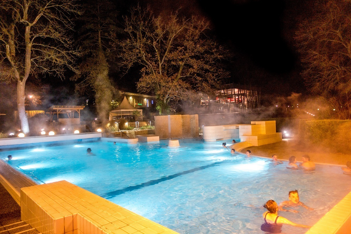 Relax in the pools of Mondorf Domaine Thermal in the Grand Duchy of Luxembourg
