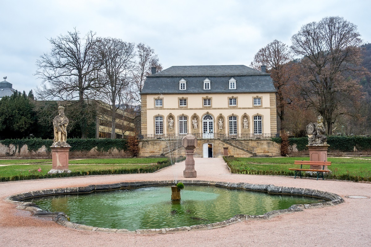Visiting the Orangerie at Echternach Abbey is one of the prettiest things to do in Luxembourg