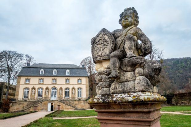 The Orangerie is one of the top attractions in Echternach, one of the oldest towns in Luxembourg