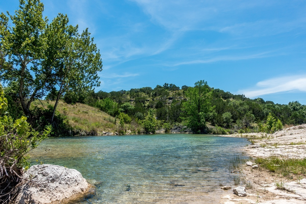 One of our Texas road trip highlights was visiting Pedernales State Park