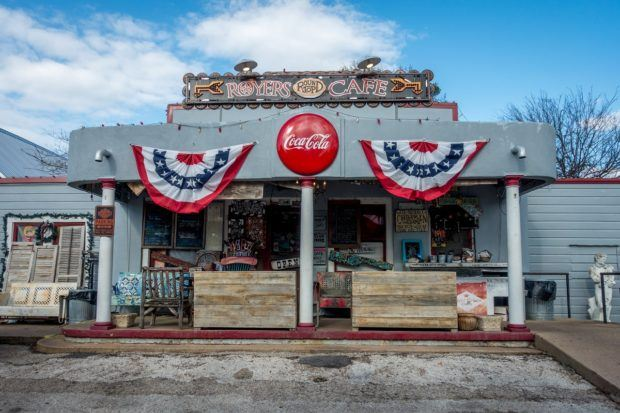 Royers Round Top Cafe is one of the popular places to travel in Texas for great food