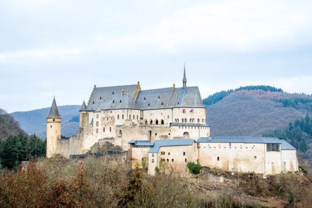 What to see in Luxembourg: Vianden Castle