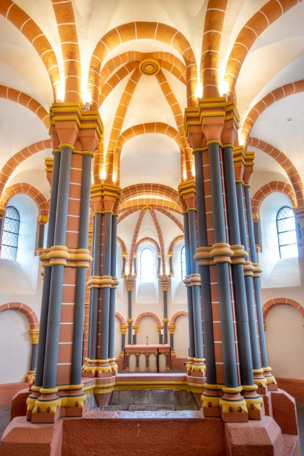 The 12th century chapel in Vianden Castle is a Luxembourg must see