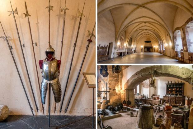 Vianden Castle is one of the best places in Luxembourg for history lovers