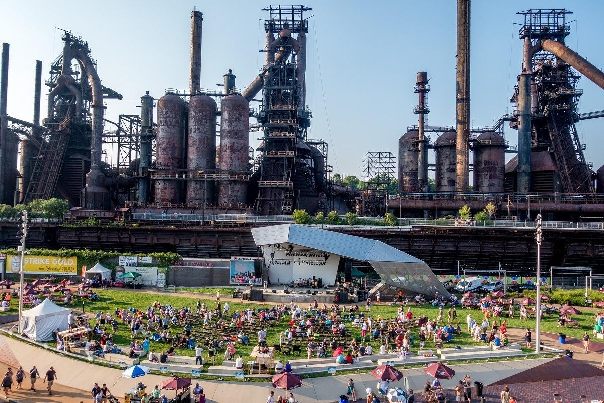 Bethlehem Musikfest at the Steel Stacks