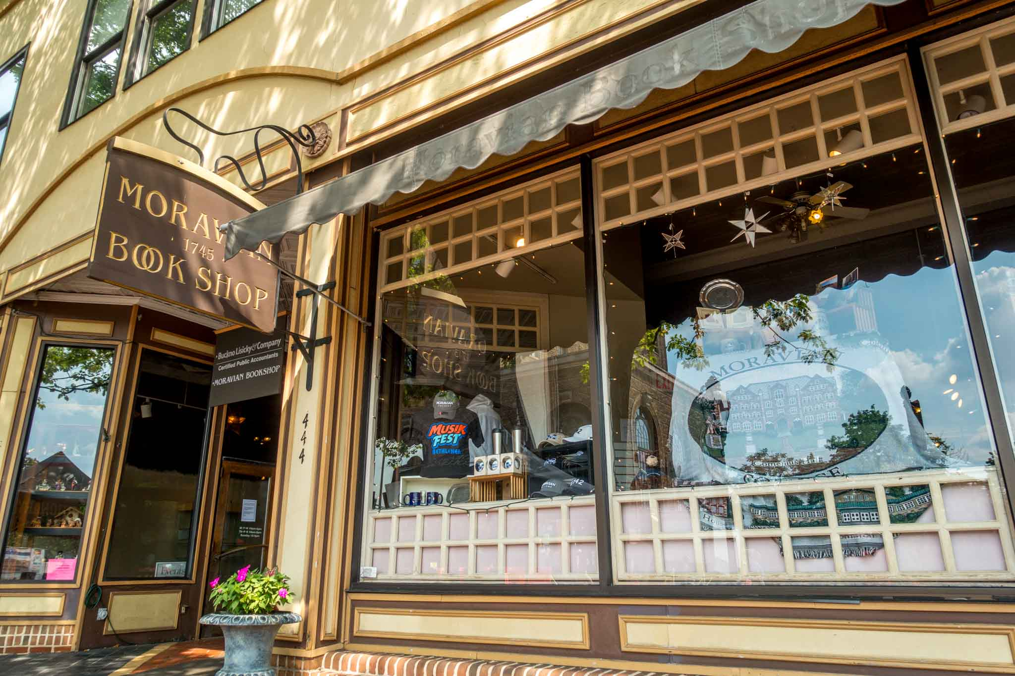 Bethlehem's Moravian Book Shop is the second oldest bookstore in the world