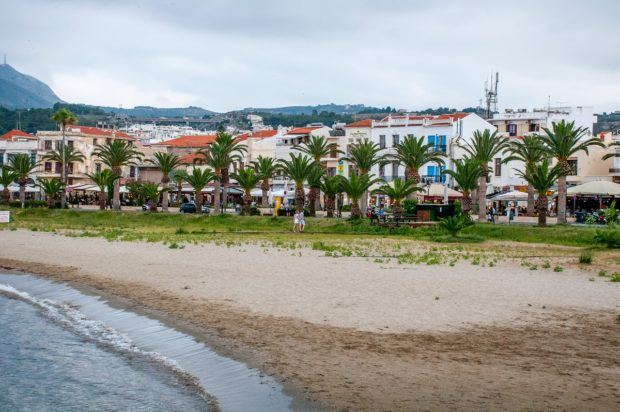 Seaside restaurants and shops to see in Rethymno when you visit Crete