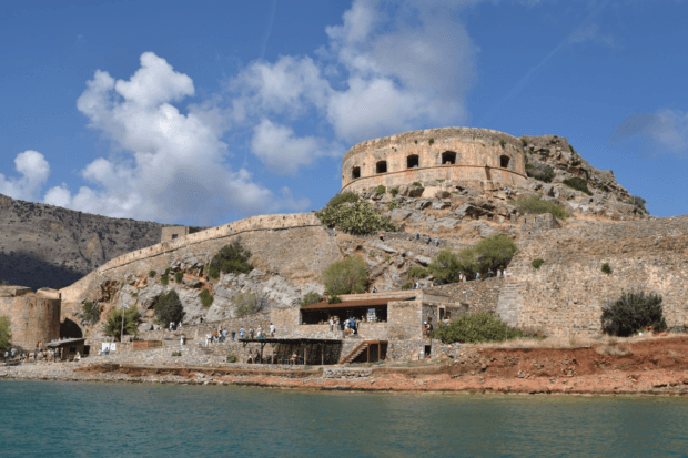 Spinalonga Island and fortress is one of the unique Crete tourist attractions