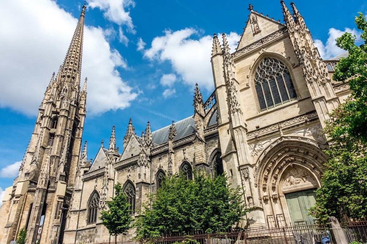 The Basilica of Saint Michael and its bell tower are two of the top Bordeaux France points of interest