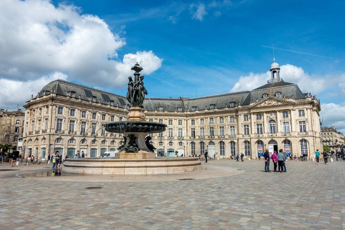 Visiting the Place de la Bourse is one of the popular Bordeaux things to do