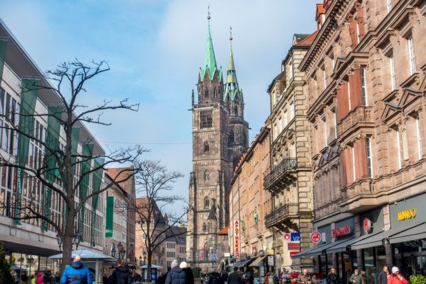 Konigstrasse is one of the prime places to shop in Nuremberg