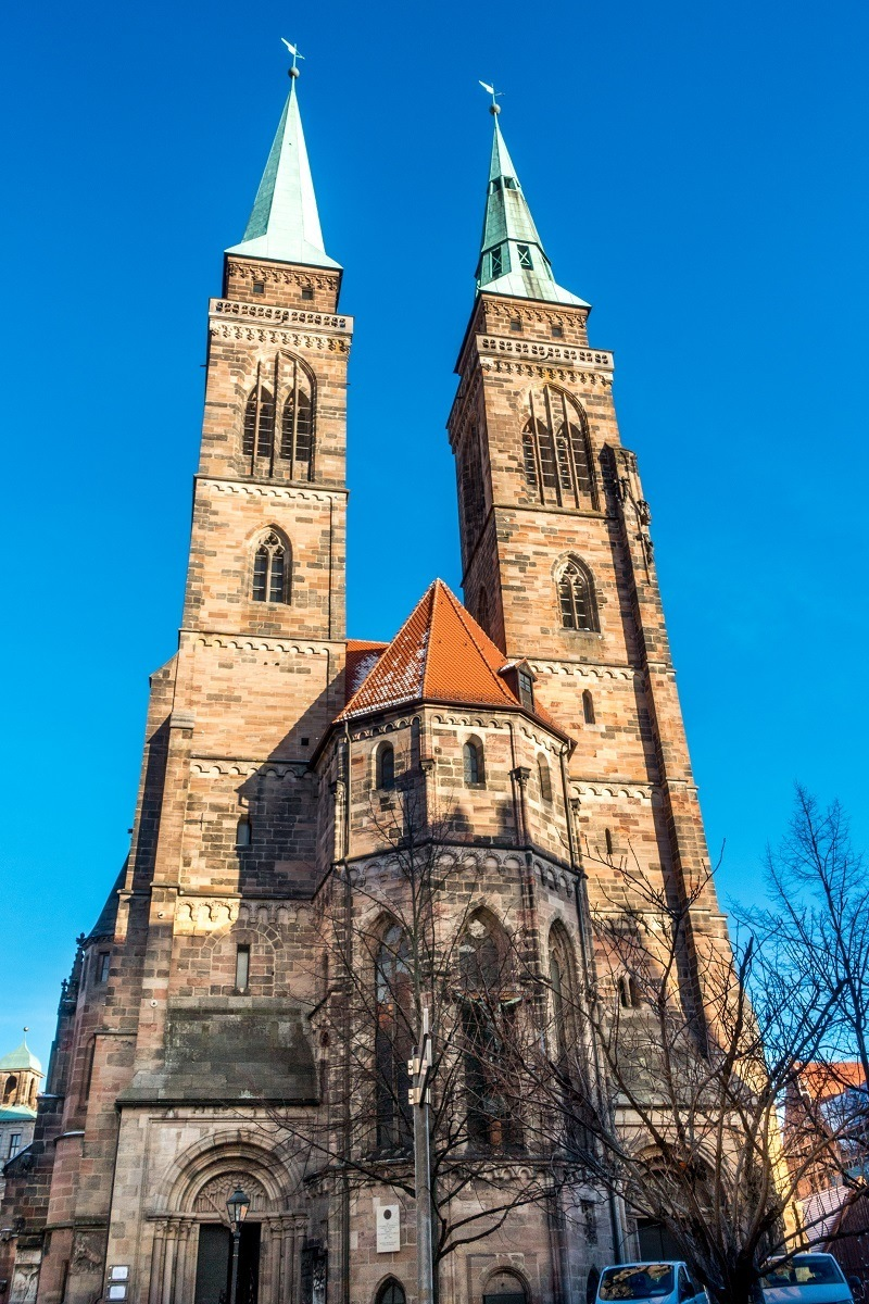 St. Sebald Church exterior with two towers