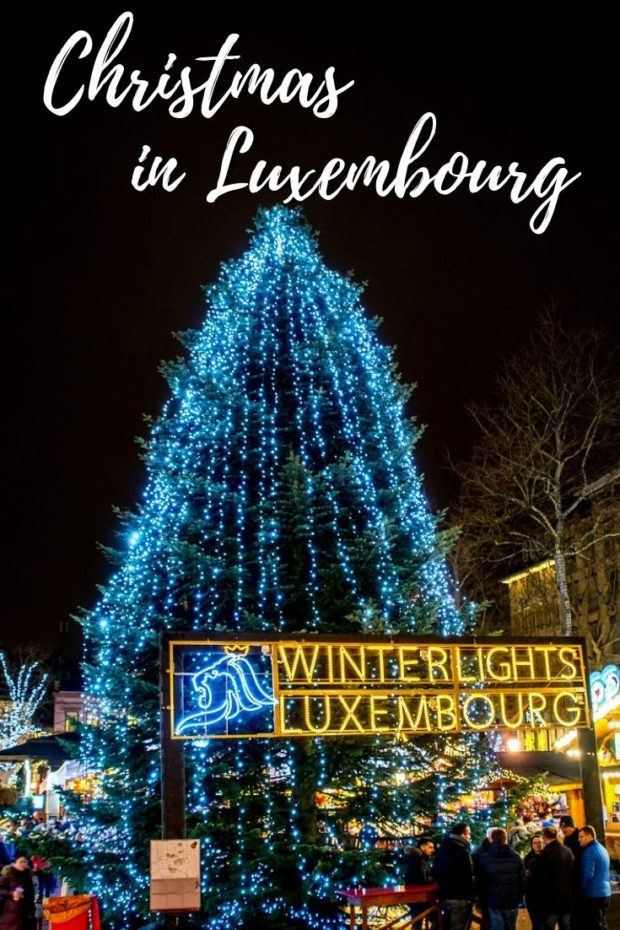 Celebrating the Holidays at the Festive Luxembourg Christmas Market