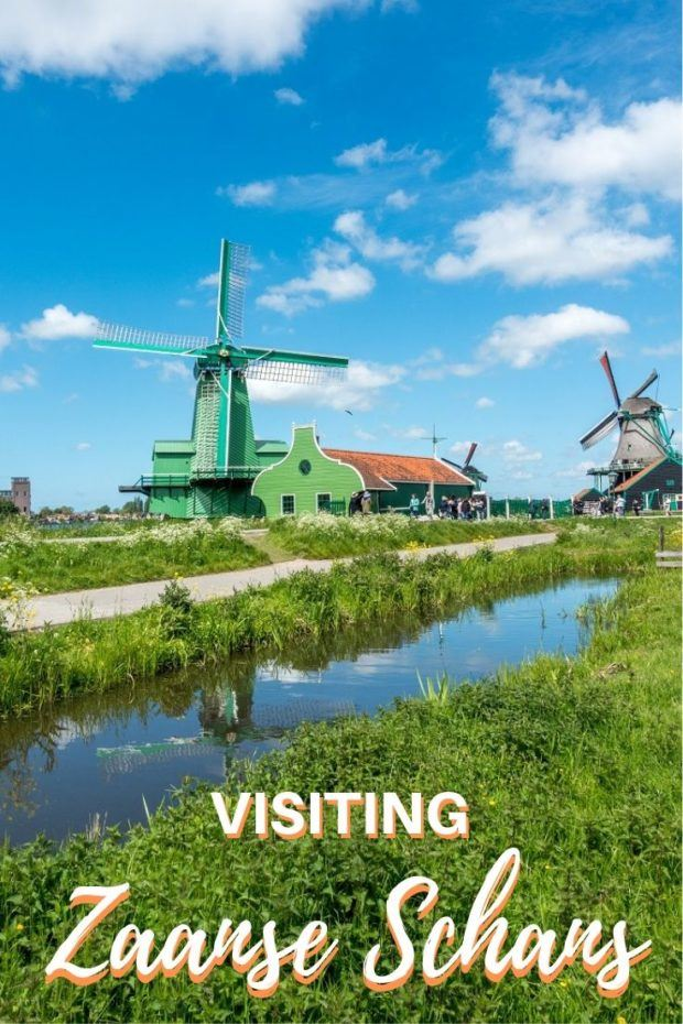 A Picture Perfect Day Trip to the Zaanse Schans Windmills