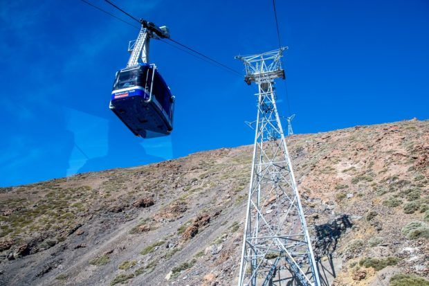 Teide Cable Car Tenerife:  Get there early to get your parking spot.  The cable car is the top Tenerife attraction.