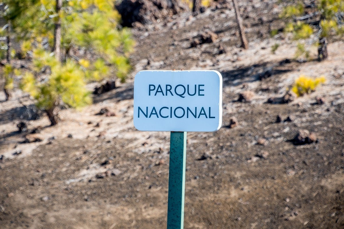 The Tenerife mountain known as Mount Teide is actually the most visited national park in Europe.  The height of Mount Teide is 3,718 meters (12,198 feet).