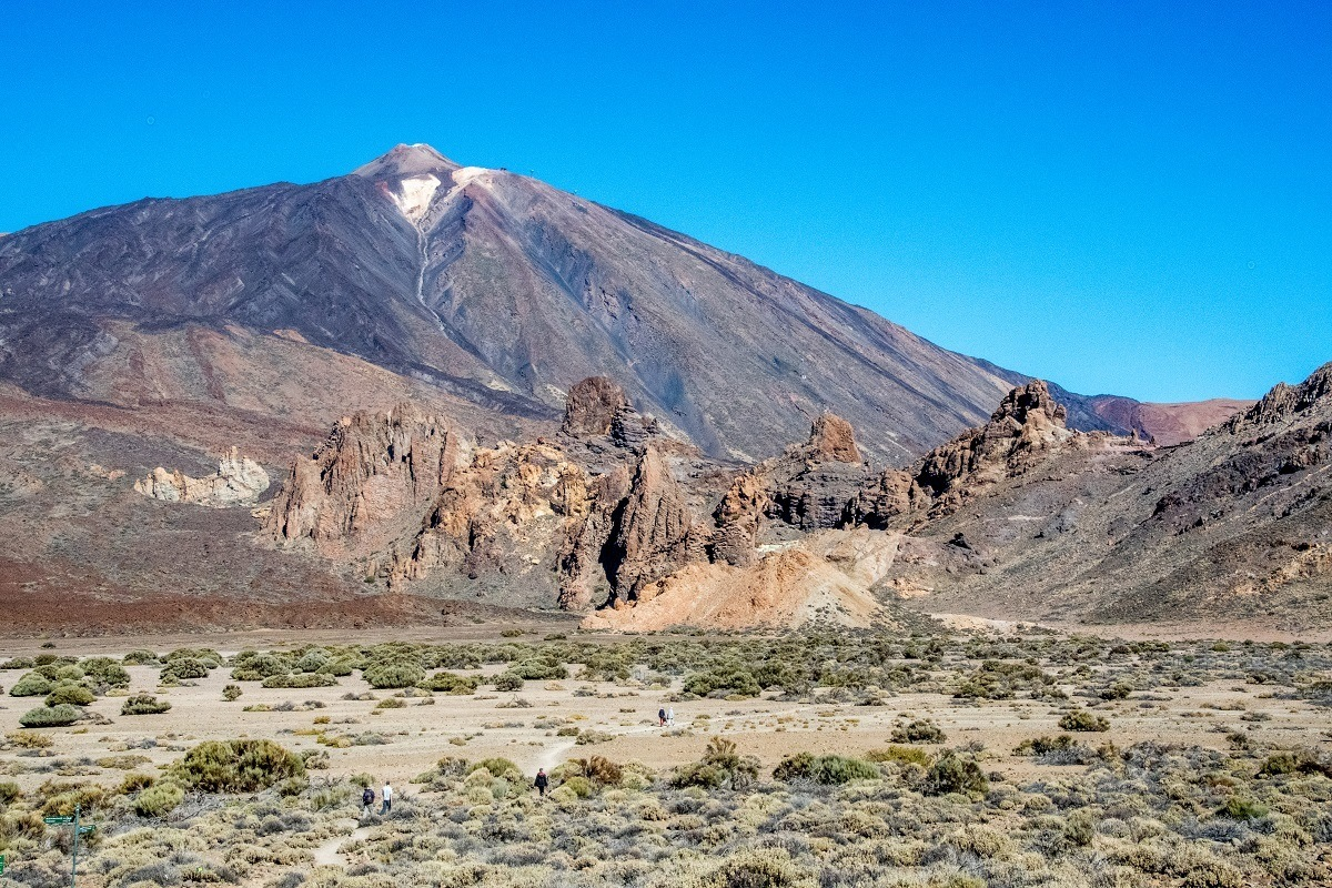 Visiting the Mount Teide volcano in Tenerife, Spain's highest mountain.