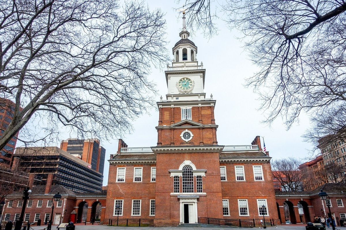 Independence Hall is one of the top sights in Philadelphia PA