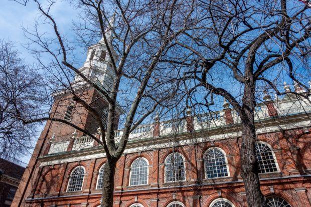 Christ Church is one of the great places to visit if you have one day in Philadelphia PA