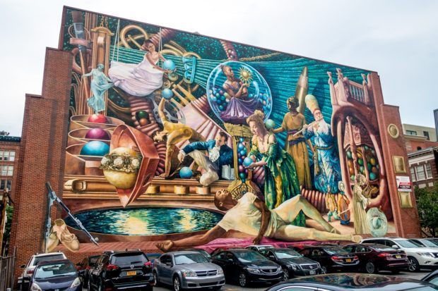Seeing some of the thousands of murals in the city is a highlight of Philadelphia travel