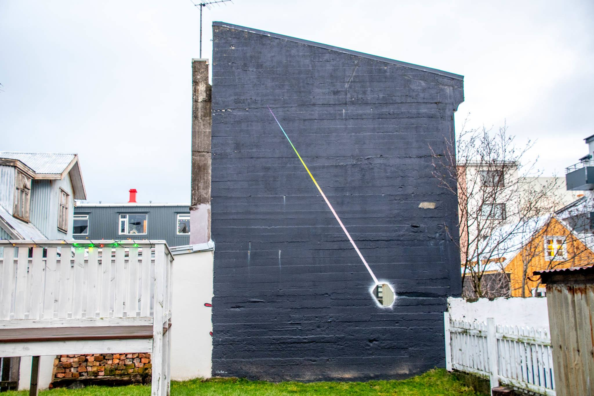 Mixed-media murals are popping up in the capital.