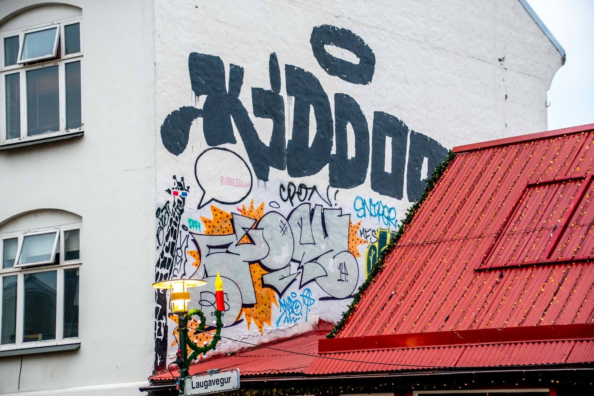 The Reykjavik street art hall of fame.