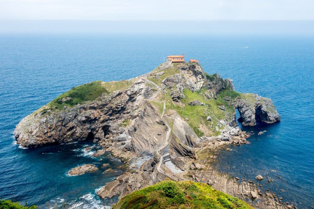 San Juan de Gaztelugatxe islet in the Basque Country