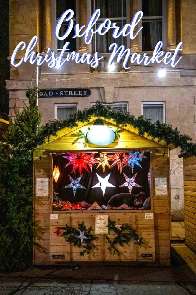 Holiday Happiness at the Oxford Christmas Market