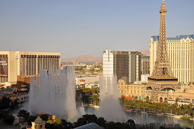 The Bellagio Fountain in Las Vegas