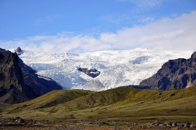 Glacier on Iceland's Southern Coast