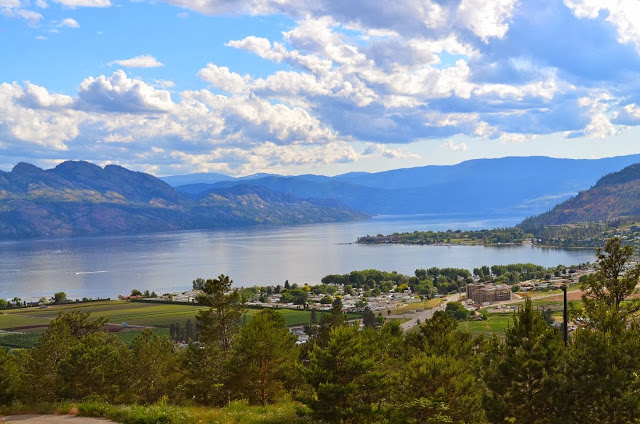 Okanagan Lake from West Kelowna