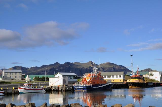 Fishing Boats in Hofn, Iceland