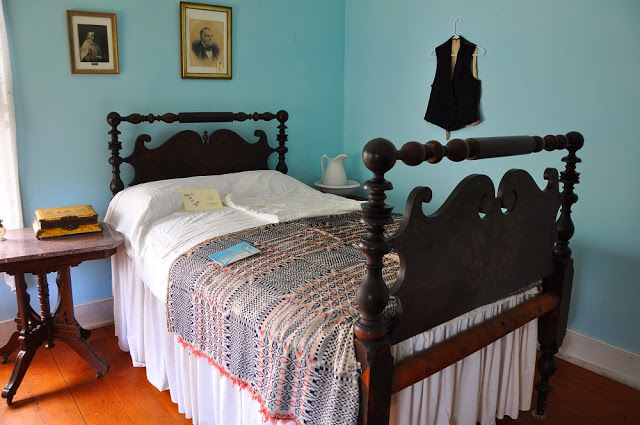 Bedroom in the LaPorte House