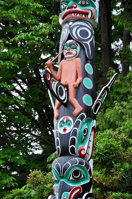 Totem in Stanley Park